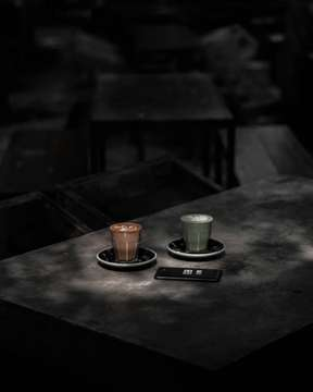 Coffee and matcha for the end of this month! Loc📍 Mimiti Coffee & Space (Bandung) ⠀⠀⠀⠀⠀⠀⠀⠀⠀ #hobikopi #coffee #instagood #coffee #photooftheday #kopi #photography #tuesday #perspective #coffeeporn #espresso  #coffeeshop #coffeetime #masfotokopi #gs_coffee #black
