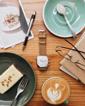 Sunday & coffee, nothing better.☕️ Get 15% off by use my code 'dhipta15' for every purchase at www.briston-watches.com. @bristonwatches #MyBriston #BristonWatches #Happy5Briston