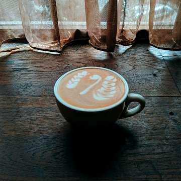 ✋✋✋ #latteartist #latteart #coffeeholic #kopikina #tebet #masfotokopi #coffeegrams #latte #espresso #coffeeshop