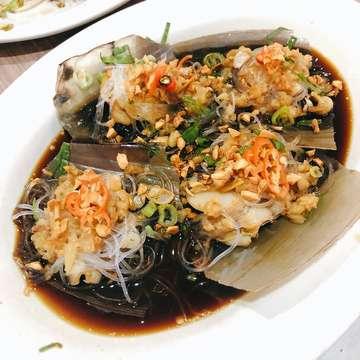 Garlic scallops!!!! 💣💣💣 #foodcommasindonesia