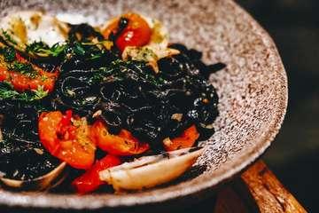 Squid Ink Pasta by @nomzjakarta . . . . . #squidinkpasta #squidink #pasta #nomz #nomzjakarta #grandindonesia #indonesia #jakarta #foodphotography #foodporn #foodgasm #food #foodie #jktfoodie #foodblog