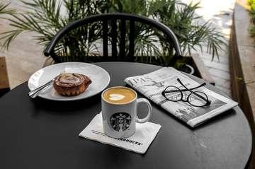 ⠀⠀⠀⠀⠀⠀⠀⠀⠀ It's better to be a lion for a day than a sheep all your life. ⠀⠀⠀⠀⠀⠀⠀⠀⠀ ⠀⠀⠀⠀⠀⠀⠀⠀⠀ ☕ : Ristretto Bianco ⠀⠀⠀⠀⠀⠀⠀⠀⠀ 🥐 : Cinnamon Roll ⠀⠀⠀⠀⠀⠀⠀⠀⠀ 📍 : Starbucks Coffee @starbucks @starbucksindonesia ⠀⠀⠀⠀⠀⠀⠀⠀⠀ ⠀⠀⠀⠀⠀⠀⠀⠀⠀ ⠀⠀⠀⠀⠀⠀⠀⠀⠀ ⠀⠀⠀⠀⠀⠀⠀⠀⠀ ___________________________________________ #coffeeshop #coffee #bestcoffeeshop #manmakecoffee #anakkopi #hobikopi #cupsinframe #coffeeshopsoftheworld #coffeetime #happyboringlife #manualjakarta #avengersendgame #indocoffeegram  #coffeecupsoftheworld #masfotokopi #coffeeheaven #brewcoffee #coffeedaily #indonesiancoffeeshop #handsinframe #coffeeoftheday #tablesituation #coffeeinblack #mbakfotokopi #jakartacoffeeshop #coffeeshopjakarta #baristadaily #coffeehead #jsc #jakartasecretcoffee