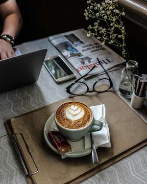⠀⠀⠀⠀⠀⠀⠀⠀⠀ We want to do a lot of stuff; we're not in great shape. We didn't get a good night's sleep. We're a little depressed. Coffee solves all these problems in one delightful little cup. ⠀⠀⠀⠀⠀⠀⠀⠀⠀ ⠀⠀⠀⠀⠀⠀⠀⠀⠀ ☕ : Caffè Latté ⠀⠀⠀⠀⠀⠀⠀⠀⠀ ⠀⠀⠀⠀⠀⠀⠀⠀⠀ 📍 : Hours Coffee & More @hours.jkt ⠀⠀⠀⠀⠀⠀⠀⠀⠀ ⠀⠀⠀⠀⠀⠀⠀⠀⠀ ⠀⠀⠀⠀⠀⠀⠀⠀⠀ ⠀⠀⠀⠀⠀⠀⠀⠀⠀ ___________________________________________ #coffeeshop #coffee #bestcoffeeshop #manmakecoffee #anakkopi #hobikopi #cupsinframe #coffeeshopsoftheworld #coffeetime #happyboringlife #manualjakarta #indocoffeegram  #coffeecupsoftheworld #masfotokopi #coffeeheaven #brewcoffee #coffeedaily #indonesiancoffeeshop #handsinframe #coffeeoftheday #tablesituation #coffeeinblack #mbakfotokopi #jakartacoffeeshop #coffeeshopjakarta #baristadaily #coffeehead #jsc #jakartasecretcoffee