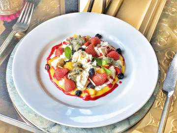 Eton Mess A traditional British favourite. Seasonal fruits, smashed meringue and a homemade fruit coulis  For further details, inquiries and booking, please call (0361)4732392 / +62 (0)811395400 or email: reservation@jemmebali.com . . . . #dessert #bali #seminyak #petitenget #wednesday #roast  #foodlover #foodography #instayum #foodpic #foodiesofinstagram #indonesianfood #foodgasm #foodielife #foodiegram #eattheworld #tastemade #onthetable #buzzfeast #heresmyfood #eatfamous #dailyfoodfeed #feedfeed #foodbeast #liveauthentic #eeeeeats #jemme #jemmebali