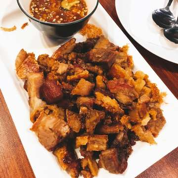 Samcan pangang VS samcan goreng 🐽 #porkbelly #porkie #piglovers #foodie #kulinerjabodetabek #nonhalal #porkfood #porkenbir #imblessed #thankful 🙏