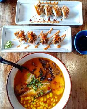 Ramen 🍜 vs Sushi 🍣  What do you prefer for lunch? 🤔 . . . #lunch #lunchtime #foodphotography #foodporn #foodie #foodgasm #fooddiary #foodstagram #foodblogger #foodlover  #foodpics #food #goodfood #eat #love #travel #travelblogger #travelphotography #instagood #instafood #delicious #yummy #yum #tasty #kuliner #asianfood #anakjajan #jktfoodbang #happiness #weekendvibes