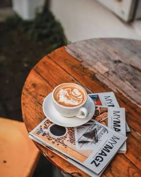 """""""In coffee, we trust."""" Begitu katanya.  #tellingcoffeestory #ngopisekejab"""